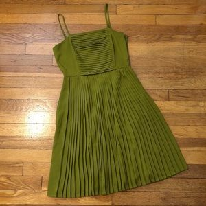 Lands End Canvas Green Dress